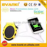 2016 new technology Best Selling Solar Mobile Charger Solar Power Bank Handy Waterproof 50000mah