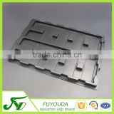 China produce high quality ESD PS plastic clamshell blister try for electronic component
