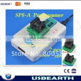 TOP quality !!! New hot--Sofi SP8-A Universal Programmer (93/24/25/BR90/SPI BIOS) High speed USB programmer / over 4000 chips!