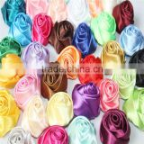 Wedding accessories - the bride color butyl artificial flowers - Valentine's Day satin rolled rose fabric hair flower