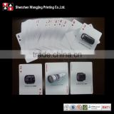 Brand playing cards wholesale , top quality famous playing cards , famous brand poker printing