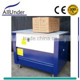 Semi automatic corrugated carton box strapping machine