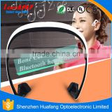 2016 Factory seller new bluetooth headset mp3 bone conduction microphone headphone