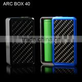 Vapecige latest best price Evolv dna 40 chip large screen box mod esquare