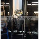 30 BBL Conical Stainless Steel Beer Fermenter For Laboratory Stainless Steel Beer Equipment