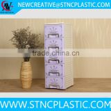 metal handle plastic 4 drawer file cabinet various colors                                                                                                         Supplier's Choice