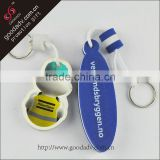 Customized logo OEM designed eva keychain breathalyzer
