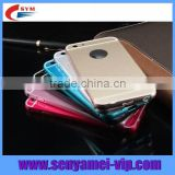Hot New Products For 2015 For iPhone 6 Case Metal Bumper PC Cover Free Samples Available