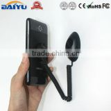 Retractable security cable for mobile phone