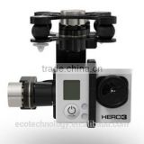 Hot Selling DJI Phantom 2+Zenmuse H3-3D 3-axis high performance gimbal for GoPro Hero3 FPV Aerial Photography UAV
