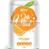 Orange Flavor Soda Soft Drink