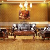 exquisite luxury italian sofas for sale / sofa leather corner / hotel lobby sofa classic set HS26