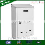 Fashion new type free standing mailbox post free and standing mailbox post with mail box lock