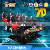 Factory Price Theme Park 6/8/9/12 Seats 6Dof Motion Platform 5D Cinema