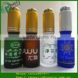15ml empty glass bottles with press pump dropper tube glass bottle round glass dropper vial                                                                         Quality Choice