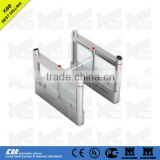 Hot sale swing gate optical turnstile, access control, security,stainless steel structure, ISO9001 CE UL certificate