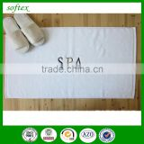 keep floor clean and dry cotton terry hotel bath mat