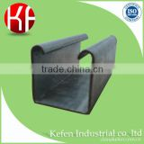 Strut slotted galvanized support system u beam steel channel square tube/c purlin/c channel