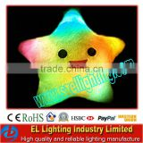 led lucky star lighting led glowing pillow