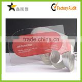 irregular plastic transparent clear mirror business name cards cheap price                                                                         Quality Choice