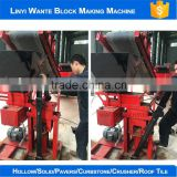 2016 WANTE BRAND WT1-25 business industrial chinese eco manual interlocking clay brick making machine for wholesales