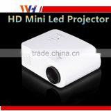 2015 New Hot Sale Low Power Consumption 25W 1080P Mini LED Projector