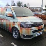 Removable anti-theft Iron rust sticker camouflage car cover vinyl film