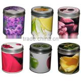 hot selling scented tin candles wholesale manufacture