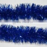 Blue Color 2M Length Christmas Tree Tinsel Garland