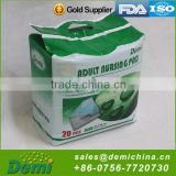 Disposable incontinence diaper urinary incontinence pads