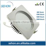 recessed ceiling down light 2013 New Product 16W dimmable down Lighting square cfl downlight made in china alibaba