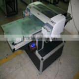 A1 LED UV Digital flatbed printer ,with white ink printing LED curable ink digital flatbed UV printer