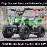CE 500W Electric quad bike kids ATV Buggy 4 wheel motorcycles 500W mini moto