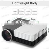 "100"" Screen Portable Mini HD 1080P Pc Av TV VGA USB HDMI Interface Power Bank Supported LED Home Video Movie Projector"