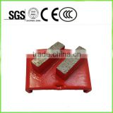Double Bar Metal Grinding Disc Floor Polishing Concrete Pads