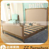 Antique Wooden Button Bed Frame Bedroom Furniture                                                                         Quality Choice