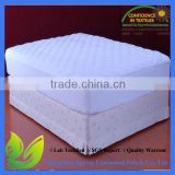 waterproof bamboo crib mini mattress cover quilted