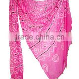Exclusive Beach Party Wear Cotton Cover Up Scarve Online | Sexy Looking Beach Cover Up Pareo