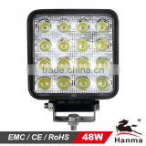 Car part, Super Bright Auto LED Work Light/LED Auto Light for Trucks/ATV/Construction/Mining IP67