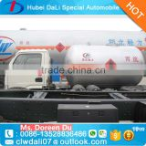 China new small 4x2 55000 Liter 2.5 MT lpg bobtail truck for sale