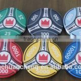 2015 China Wholesale Custom Precious Casino Poker Chips,10g ceramic chip poker chip,custom made ceramic poker chip manufacturer