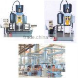 Foundry machine and core shooting machine equipment