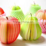Wholesale creative custom car / fruit / and / flower / different shaped sticky notepad mini memo pad provided to schools offices