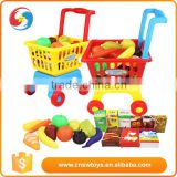 hot sale shopping kid trolley pretend play set for kids                                                                         Quality Choice