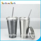 Factory Direct 15oz Stainless Steel Coffee Tumbler