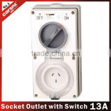13 amp switched socket 230V