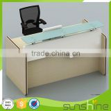 KB-RD01 Top Quality Office Furniture Hot Sell Office Use Furniture Particle Board Reception Desk