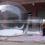 2016 hot clear inflatable bubble room