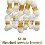 Chicken Wrapped Rawhide Knotted Bone Wholesale Bulk Dry Pets and Dogs Food Dog Treats Dog Dental Chews Dental Stick