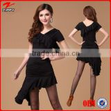 Salsa dance dresses for woman sexy dance costume Ballroom Practice Performance Costume